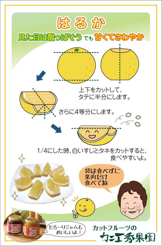 カットフルーツの食べ方